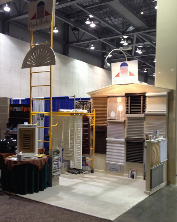 Rands Blinds at the HOme builders show in Huntsville, al